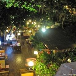 Ресторан, вид свверху