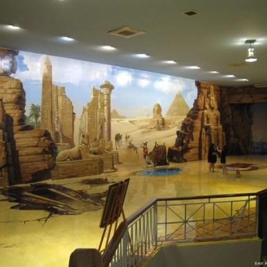 3D галерея Art in paradise Pattaya египет