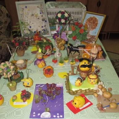 выставка поелок в детском саду