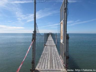 Пляж Лидо ди Езоло пристань моби дик