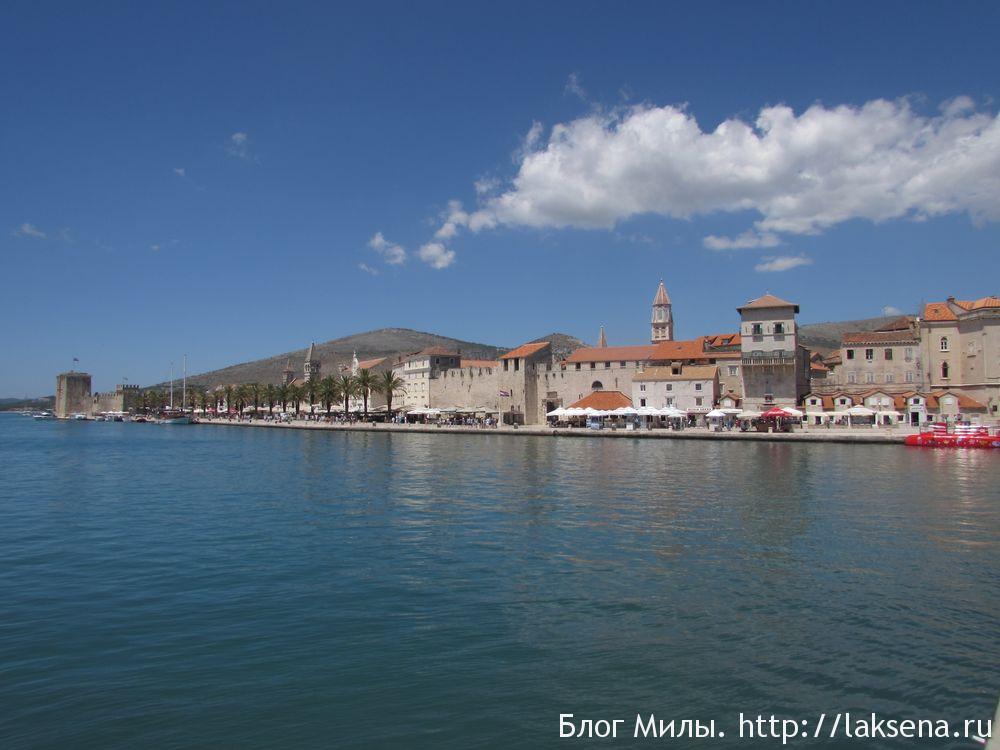 Трогир Хорватия — старый город на острове