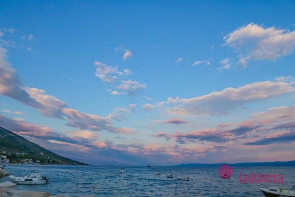 Променад в Боле, Хорватия Город Бол остров Брач Хорватия
