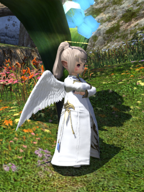 Angelic Attire:Angelic Circlet,Angelic Wings,Angelic Chaplets,Angelic Slops,Angelic Thighboots