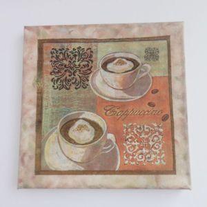 Set 2 lienzos de café