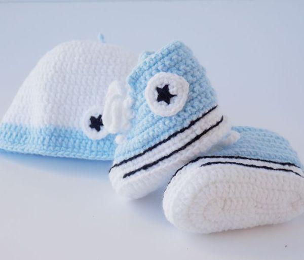 Conjunto converse de crochet