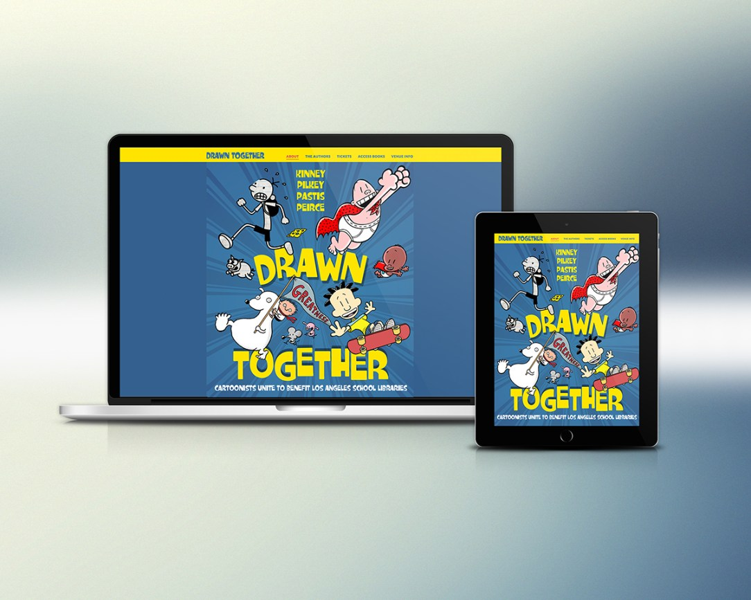 Drawn Together Website