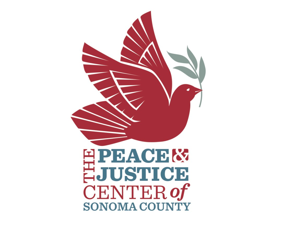 The Peace & Justice Center of Sonoma County Logo