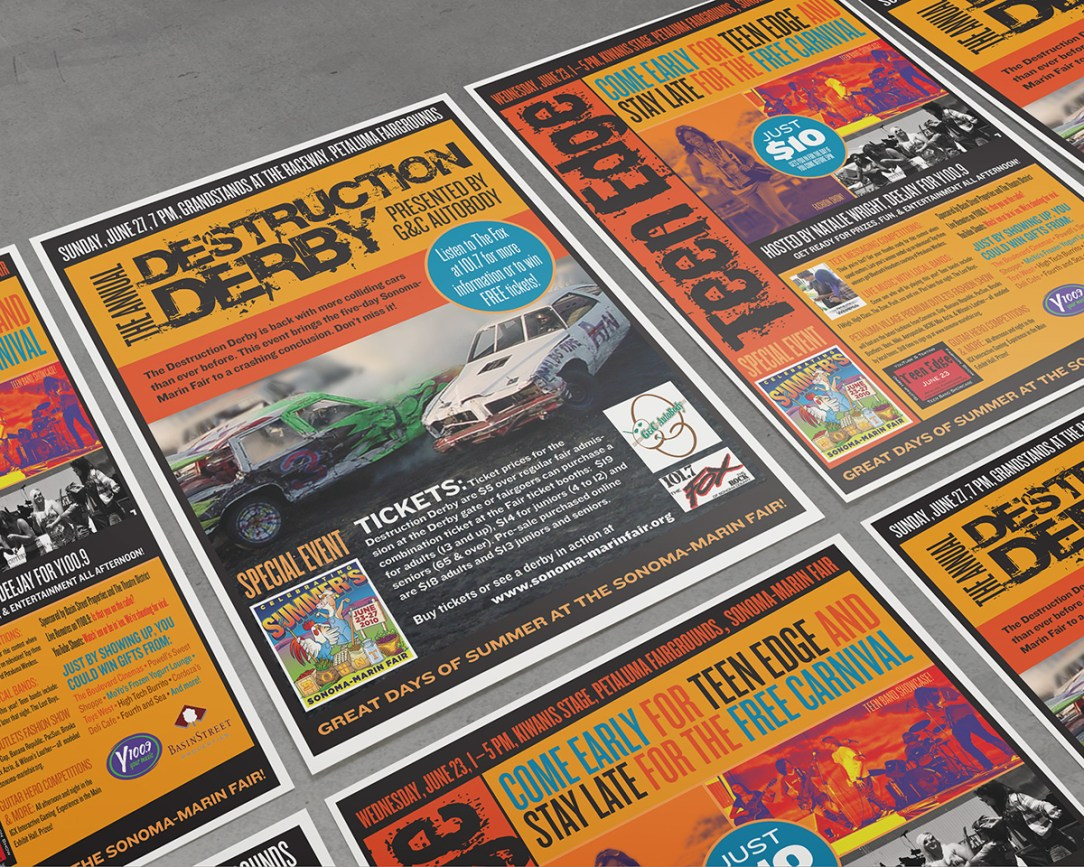 Posters Sonoma Marin Fair