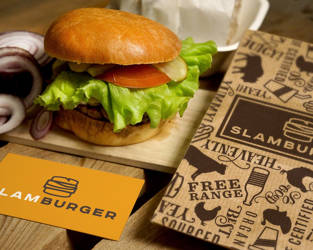 Slamburger Branding