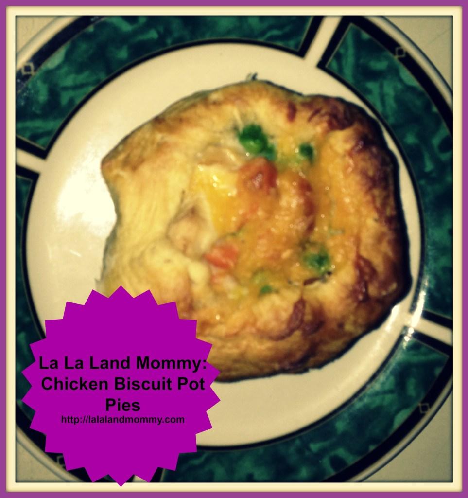 La La Land Mommy: Chicken Biscuit Pot Pies