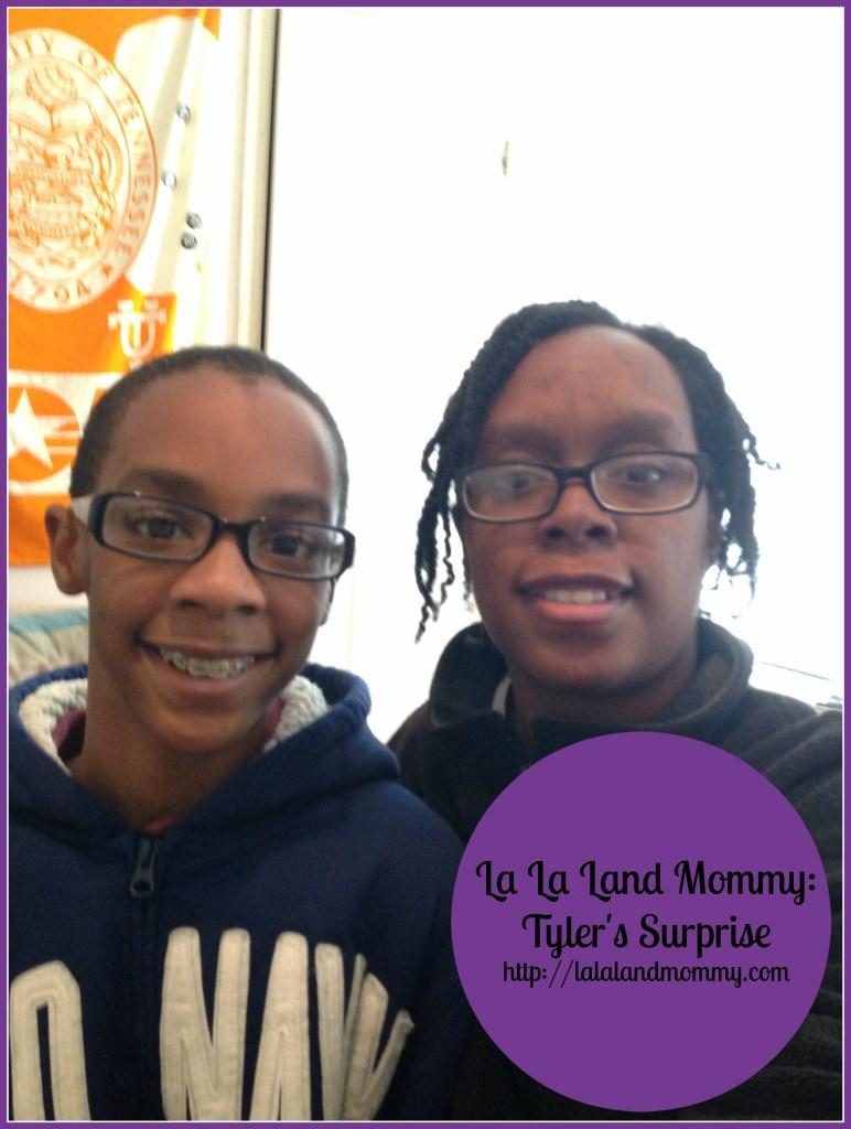 La La Land Mommy: Tyler's surprise