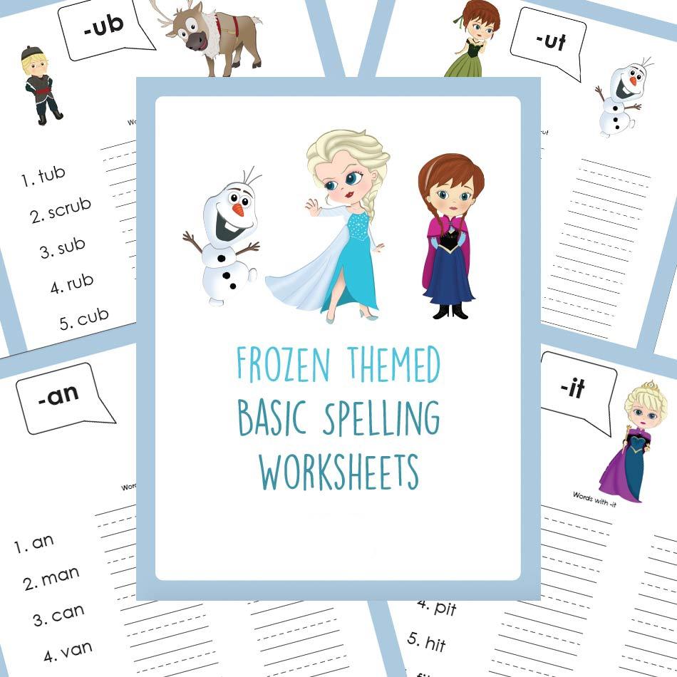 Educents Frozen Printables
