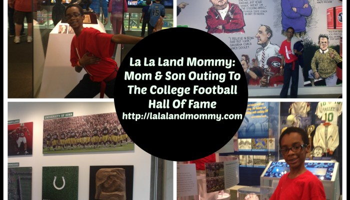 Giveaway: Mom & Son Outing To The College Football Hall Of Fame
