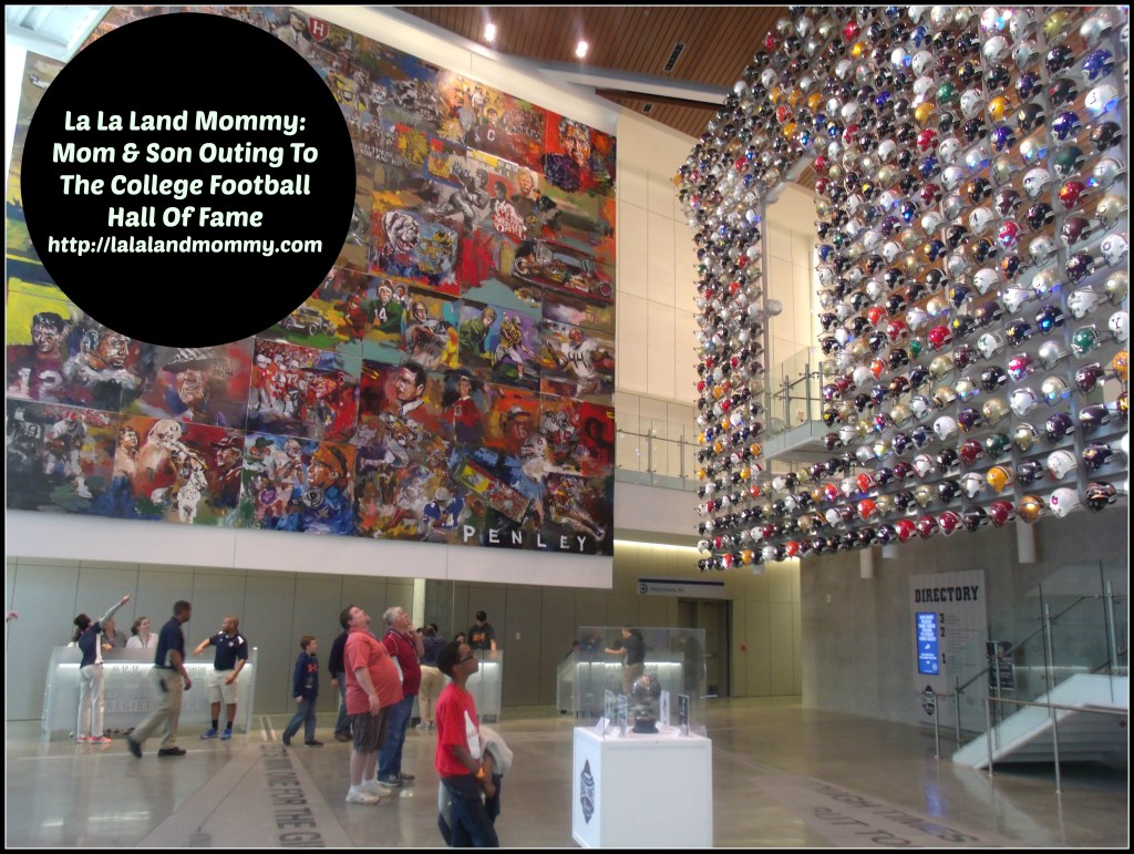 La La Land Mommy:  Mom & Son Outing To The College Football Hall Of Fame