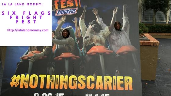 La La Land Mommy: Six Flags Fright Fest