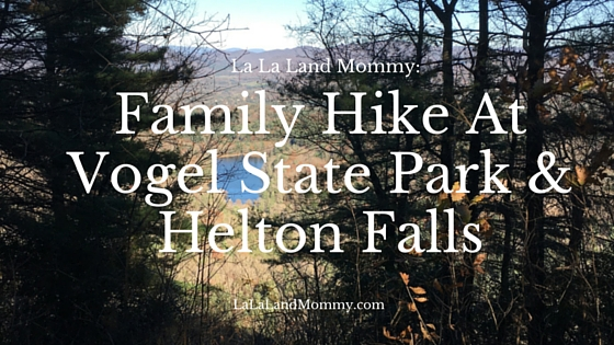 La La Land Mommy: Family Hike At Vogel State Park & Helton Falls