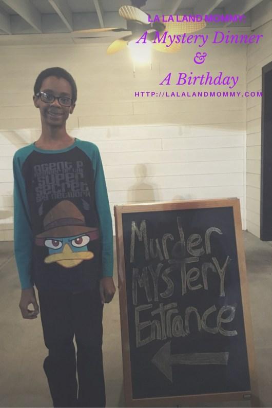 La La Land Mommy: A Mystery Dinner & A Birthday