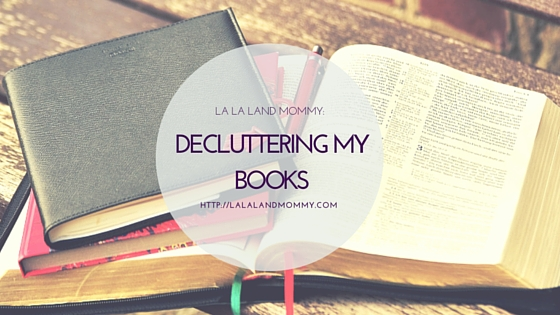 Decluttering My Books