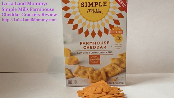 Simple Mills Farmhouse Cheddar Crackers Review
