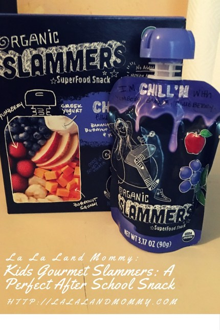 La La Land Mommy: Kids Gourmet Slammers: A Perfect After School Snack