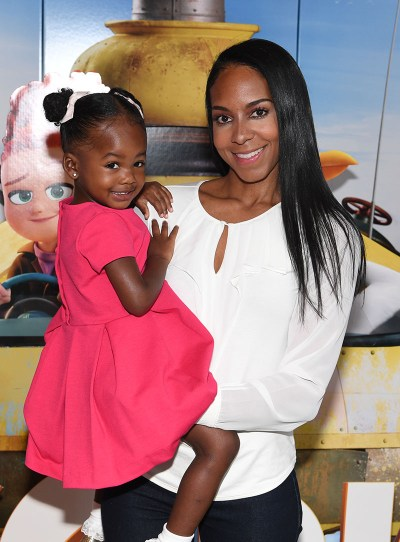 "ATLANTA, GA - SEPTEMBER 03: Sarah-Elizabeth Reed with her daughter Maria Reed (L) attend ""Storks"" private screening Hosted by The Ludacris Foundation & Unspoken Angels on September 3, 2016 in Atlanta, Georgia. (Photo by Paras Griffin/Getty Images for Warner Bros.)"