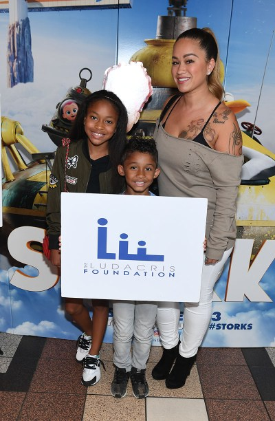 "ATLANTA, GA - SEPTEMBER 03: Sarah Vivan and Dwayne Michael Carter III attends ""Storks"" private screening Hosted by The Ludacris Foundation & Unspoken Angels on September 3, 2016 in Atlanta, Georgia. (Photo by Paras Griffin/Getty Images for Warner Bros.) *** Local Caption *** Sarah Vivan, Dwayne Michael Carter III"
