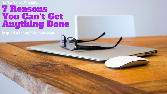 7 Reasons You're Not Productive At Home