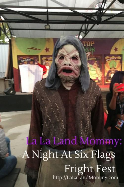 La La Land Mommy: A Night At Six Flags Fright Fest