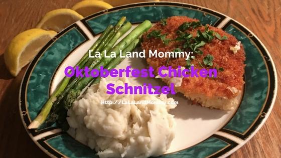 Oktoberfest Chicken Schnitzel #RealHomeChef #ad