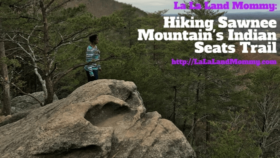 La La Land Mommy: Hiking Sawnee Mountain's Indian Seats Trail