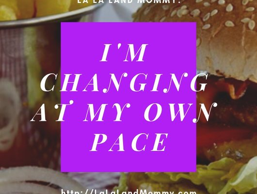 I'm Changing At My Own Pace