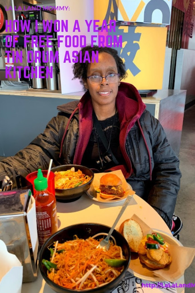 La La Land Mommy: How I Won A Year Of Free Food From Tin Drum Asian Kitchen