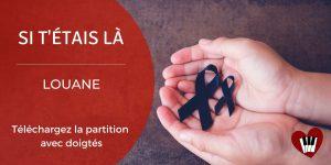 Read more about the article Si t'étais là de Louane : Partition Piano (facile à intermédiaire)