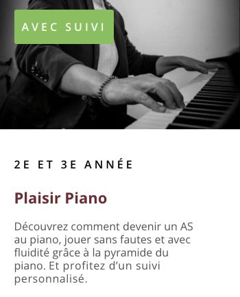 Reprendre le piano après un arrêt