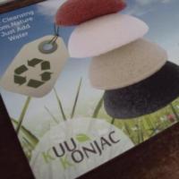 Deep cleanse your skin naturally with Kuu Konjac sponges