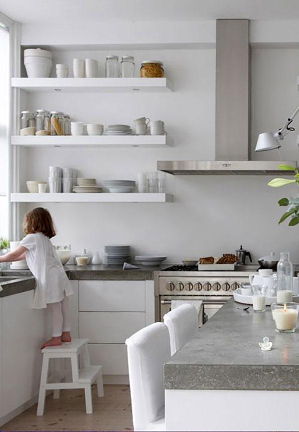 Trend Floating Shelves Kitchen Lovely