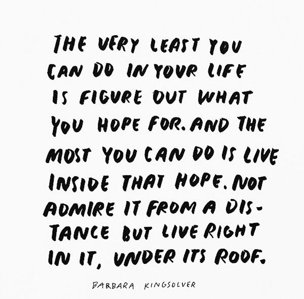 live under hope