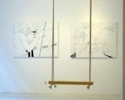 New Work, installation view, 2004