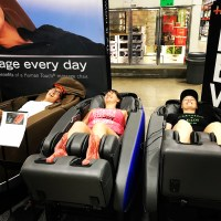 Rachie's fav massage chairs at Costco!