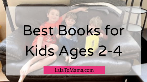 Best books for 2-4-year-olds