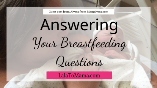 Breastfeeding questions