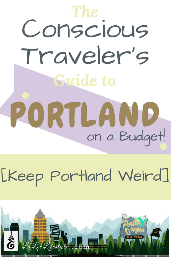 vegan food Portland, eco travel on a budget