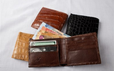 Crocodile Leather Mens Wallet