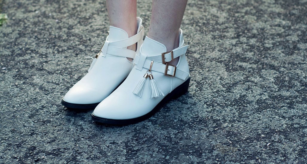 Boots blanches