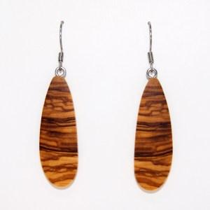 Boucles d'oreilles Pétale de marguerite – Olivier