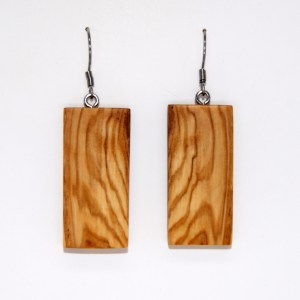 Boucles d'oreilles Rectangle 2 – Olivier