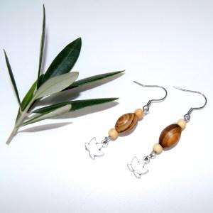 Boucles d'oreilles Lotus – Argent plaqué