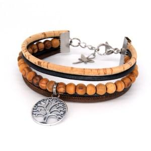 Bracelet manchette Arbre de vie – Mixte