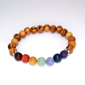 Bracelet Chakras 8mm – Mixte