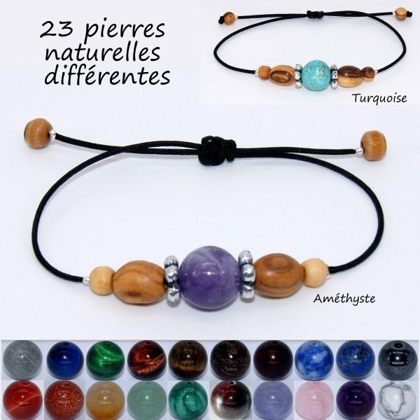 Bracelet-solo-reglable-pierres-nylon